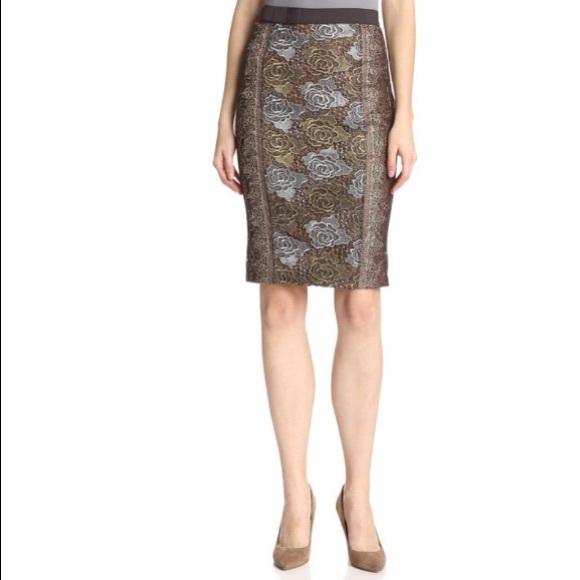 d222dff534 Anthropologie Dresses & Skirts - Anthro's Byron Lars beauty mark metallic  lace